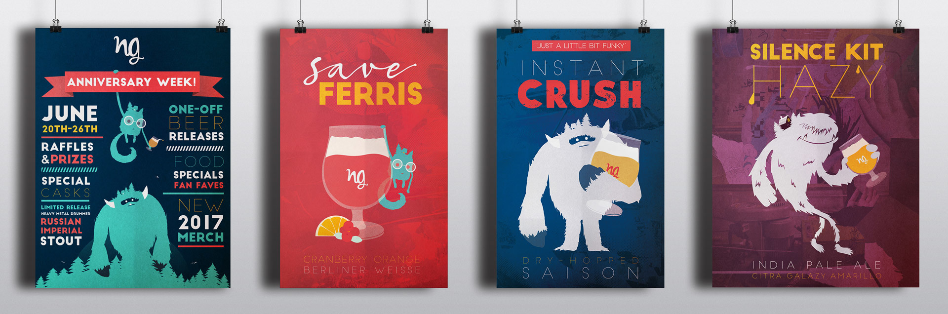 Four Nine Giant Anniversary Posters