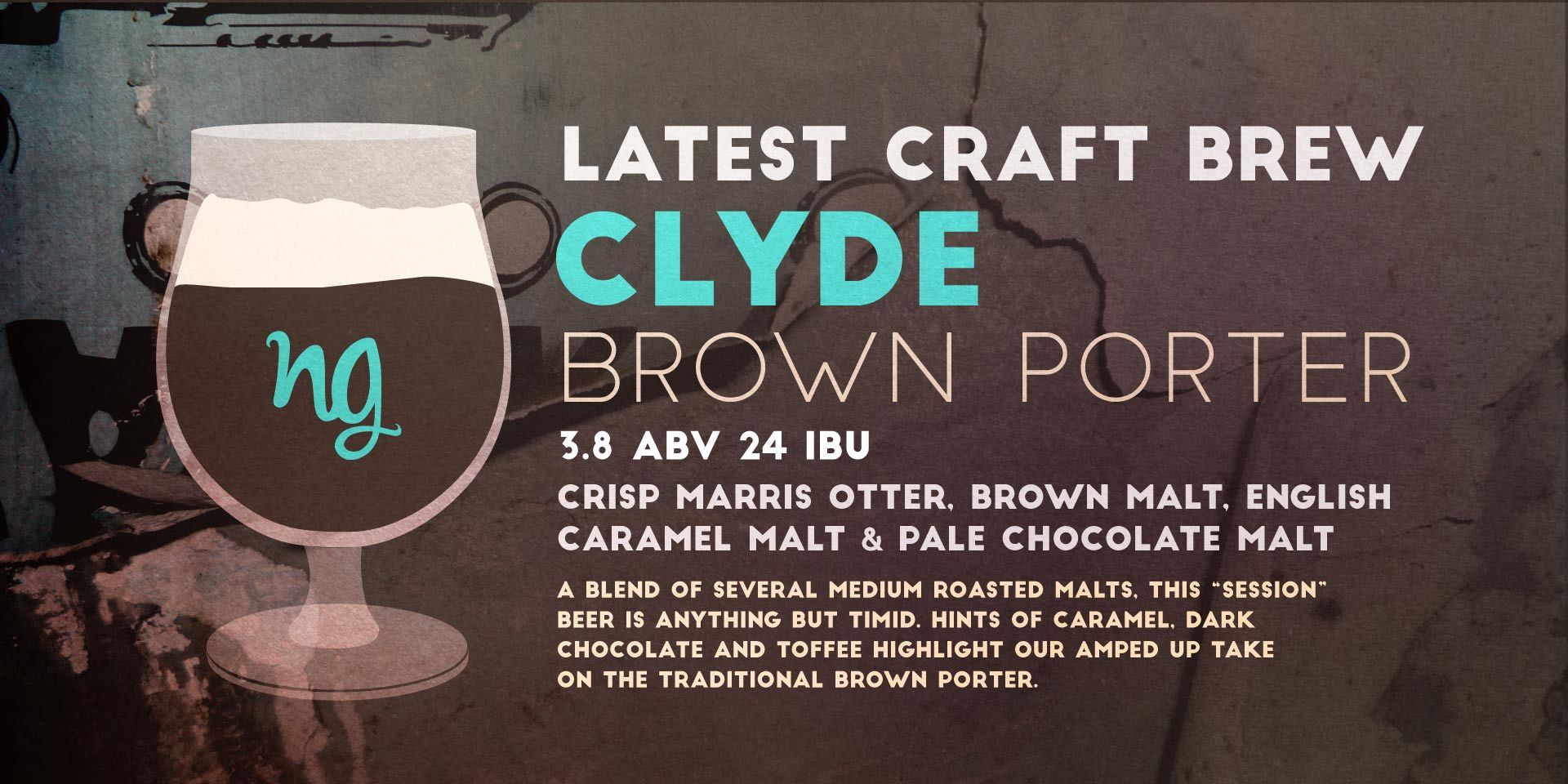 Clyde Brown Nine Giant Beer Release